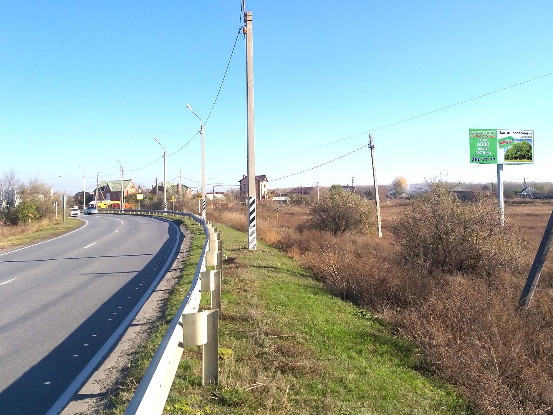 Щит 6х3 по адресу тр. Ростов - Рогожкино, 800м от границы города  (слева по ходу)
