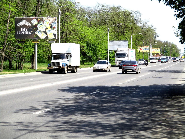 Щит 6х3 по адресу Панфиловцев ул. / Лесозащитная ул. 39 (через дорогу)