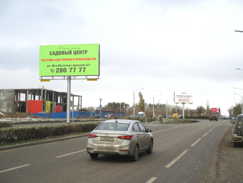 Щит 6х3 по адресу Солженицына пр-кт 24 / Жданова ул. (на разделительной)