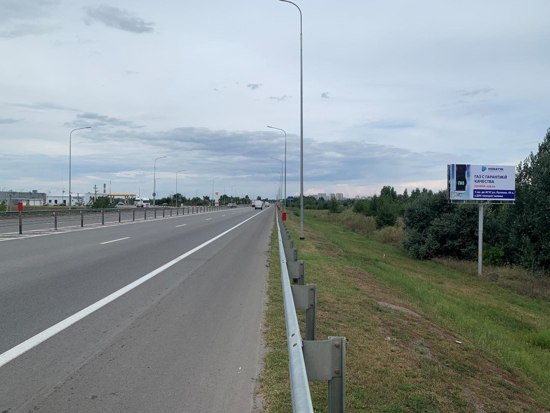 Щит 6х3 по адресу Западный подъезд (2,18 км слева)
